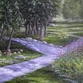 Garden Walk by Jan Byington