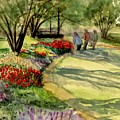 Garden Walk by Marilyn Smith