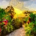 Garden Walk by Ronald Bolokofsky