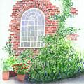 Garden Wall by Lynn Quinn