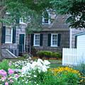 Gardens At The Burton-ingram House - Lewes Delaware by Kim Bemis