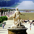 Gardens, Palace Of Versailles, Paris by Buddy Mays