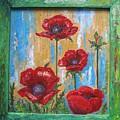 Gardens Poppy by Stella Velka