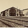 Gare De Longueau by ?douard-denis Baldus