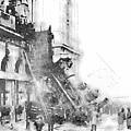 Gare Montparnasse 1895 by Helge