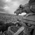 Gargoyle Hungry For The Eiffel Tower by James Udall