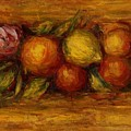 Garland Of Fruit And Flowers 1915 by Renoir PierreAuguste