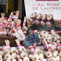 Garlic At A French Market by Georgia Fowler