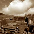 Garrod's Old Truck 2 by Kathy Yates