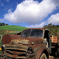 Garrod's Old Truck by Kathy Yates