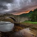 Garron Bridge Sunset by Swen Stroop