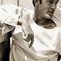 Gary Cooper Photo By George Hoyningen-huene 1934 by David Lee Guss