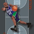 Gary Payton by Walter Oliver Neal