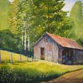 Gary's Garage by Shirley Braithwaite Hunt