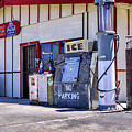 Gas And Ice by Gene Parks