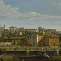 Gaspar Van Wittel  Called Vanvitelli Amersfoort 1652    1736   Rome  A View Of The Church Of Santi M by Church Of Santi Marcellino E Pietro