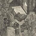 Gaspard De La Nuit by F?licien Rops