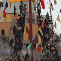 Gasparilla Ship Poster by Carol Groenen