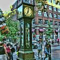 Gastown Steam Clock, Vancouver  Canada by Ola Allen