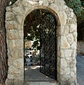 Gate In Rehavia I by Susan Heller
