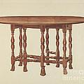 Gate Leg Table by Frank Wenger