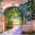 Gate To The Chateau by Barbara Couse Wilson