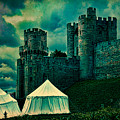 Gate Tower At Warwick Castle by Chris Lord