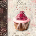 Gateau Framboise Patisserie by Mindy Sommers