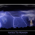 Gates To Heaven Color Poster by James BO Insogna