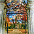 Gates To Knowledge Princeton University by Geraldine Scull