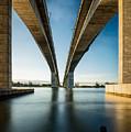Gateway Bridge Brisbane Colour by Charles King