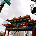Gateway To Chinatown by Sonja Anderson