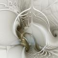 Gateway To Heaven-fractal Art by Karin Kuhlmann