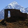 Mt Veronica And Inti Punku Sun Gate by James Brunker