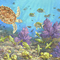 Gathering In The Reef by Carol McArdle