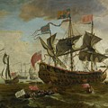Gathering Of English Ships by MotionAge Designs