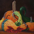 Gathering Of The Gourds by Gay Pautz