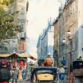 Gatubild Paris by Celestial Images