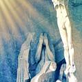 Gaudi Crucifixion by Susan Lafleur