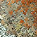 Gaudi Mozaic Abstraction by John Gaffen