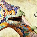 Gaudi Salamander Texted by Weston Westmoreland