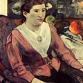 Gaugin: Marie Derrien, 1890 by Granger