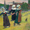 Gauguin, Breton Girls, 1888 by Granger
