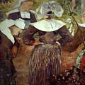 Gauguin: Breton Women by Granger