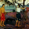Gauguin: Pandanus, 1891 by Granger