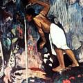 Gauguin: Pape Moe, 1892 by Granger