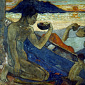 Gauguin: Pirogue, 19th C by Granger
