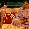 Gauguin: Tahiti Women, 1891 by Granger