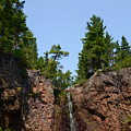 Gauthier Falls In Late August by Sandra Updyke