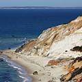 Gay Head Cliffs And Beach by Carol Groenen